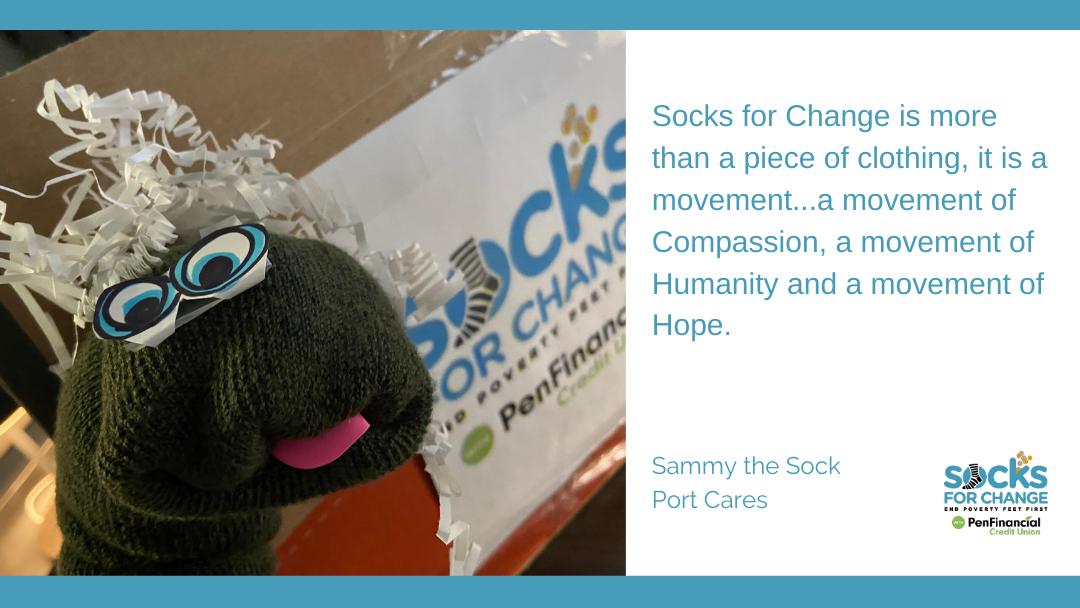 What Socks for Change Means to Port Cares