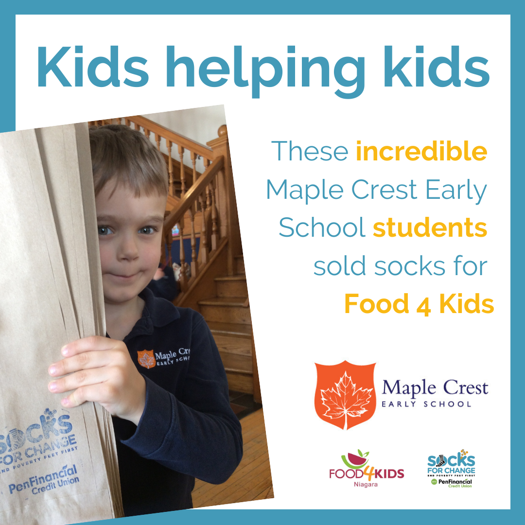 Maple Crest Early School Students Raise $3170