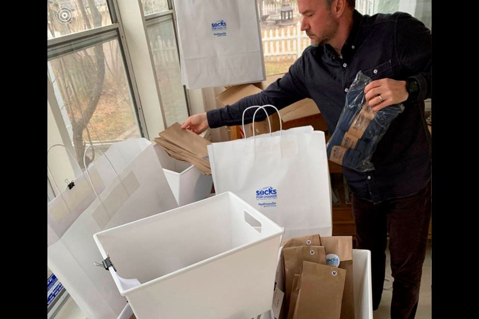Socks for Change takes big step towards helping Niagara's poverty-stricken